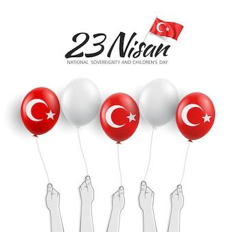 23 aprile, festa della sovranità nazionale e dei bambini