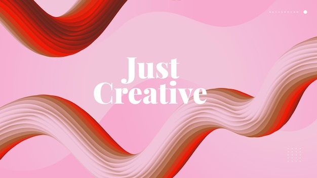Sfondo fluido astratto 3d. forme d'onda colorate. sfondo liquido adatto per sfondo, avvio, pagina di destinazione, web o presentazione aziendale
