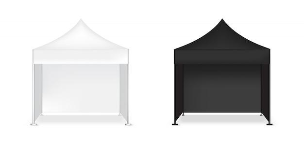 Esposizione realistica in bianco pop dell'esposizione della cabina 3d per la mostra di promozione di vendita di vendita del negozio