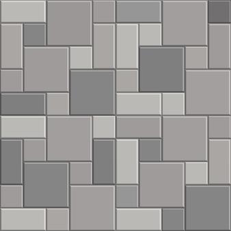 Fondo di struttura della pavimentazione della pietra del mattone 3d
