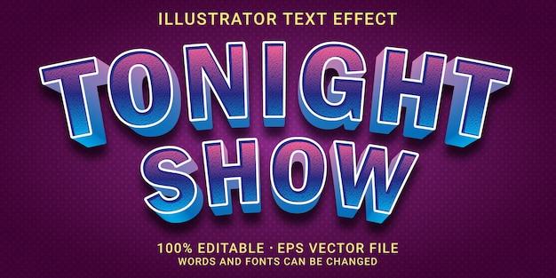Effetto di testo modificabile 3d - stile light
