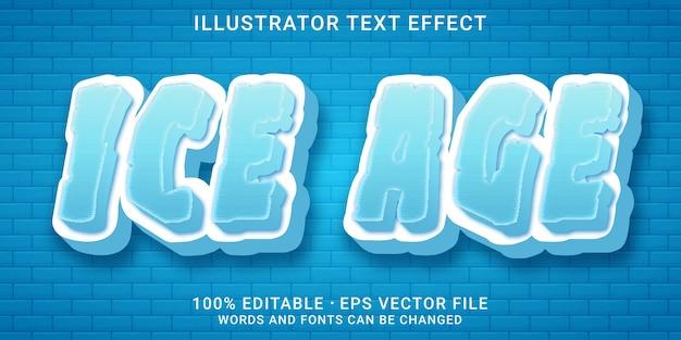 Effetto di testo modificabile 3d - stile wave