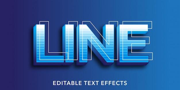 Effetti di testo modificabili in 3d