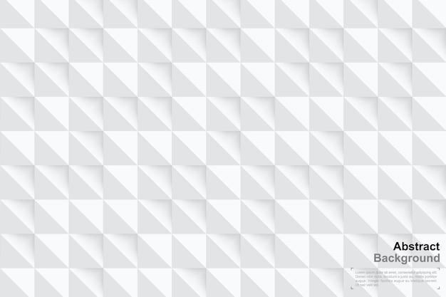 Sfondo di geometria 3d in stile art paper. modello minimo.