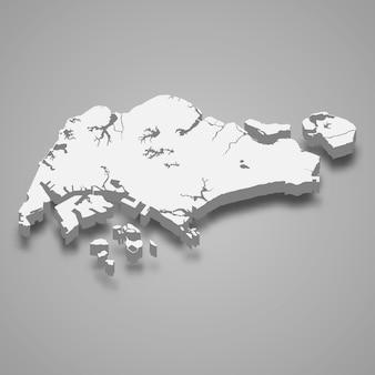 Mappa 3d con bordi