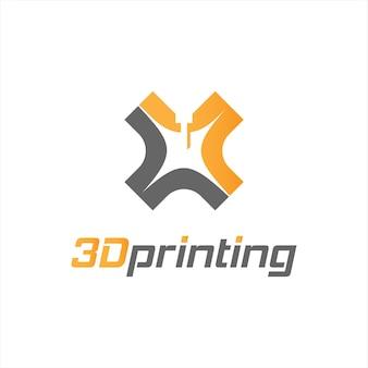 Industria del design del logo di stampa 3d