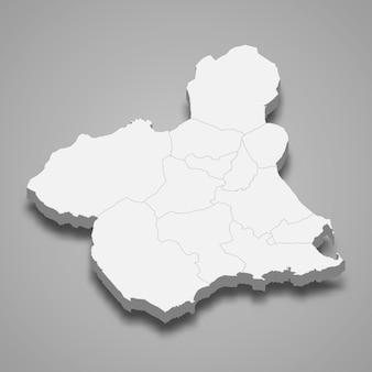 3d regione della spagna