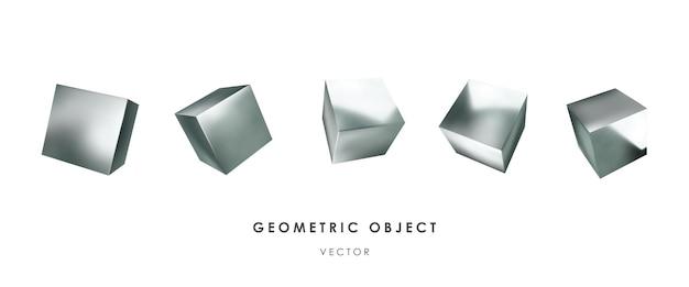 Cubi d'argento 3d