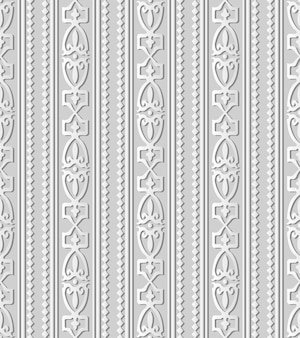 White paper art 3d diamond check curve cross crest frame line, motivo decorativo elegante.