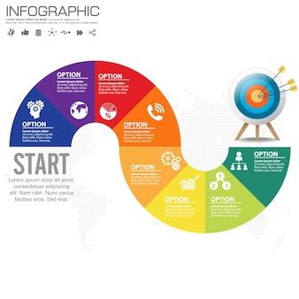 Progettazione infografica in 4 passaggi