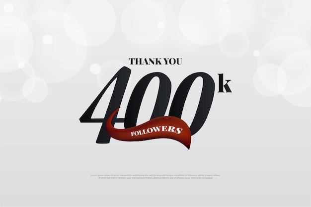 400k follower che utilizzano un design semplice e minimamente abbellito