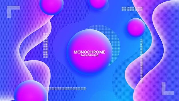 51. progettazione grafica vettoriale di sfondo monocromatico.