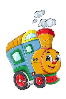 58. un simpatico personaggio dei cartoni animati del treno