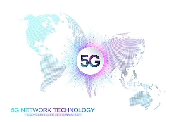 Sistemi wireless di rete 5g.
