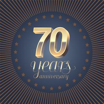 70 anni di anniversario