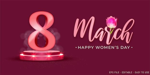 8 marzo festa della donna sul podio