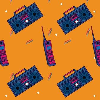 Stile di sfondo anni '80