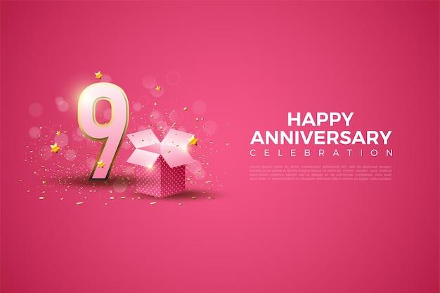 9 ° anniversario