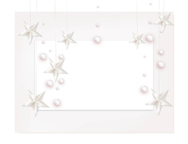 Fogli di carta a4 con elementi decorativi