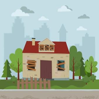 Casa abbandonata appartamento