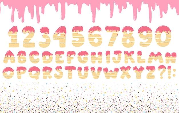 Alfabeto e numeri abc
