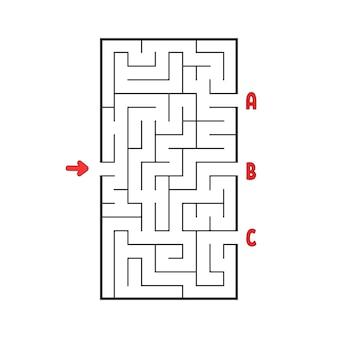 Labirinto di abstact.