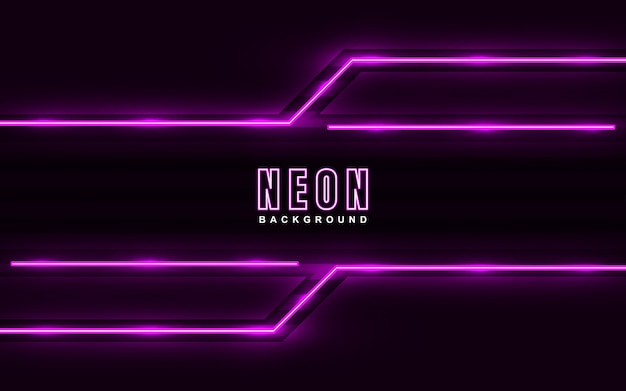 Sfondo effetto neon rosa chiaro abstrac