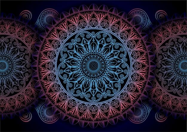 Mandala di sfondo abstrack