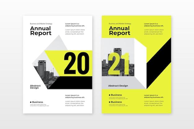 Modelli di report annuali astratti