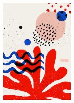Poster vettoriale di arte astratta