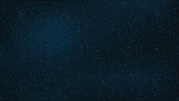 Sfondo astratto il bellissimo cielo stellato è blu.