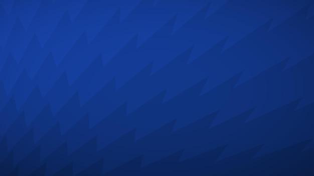 Sfondo astratto di linee spezzate nei toni del blu