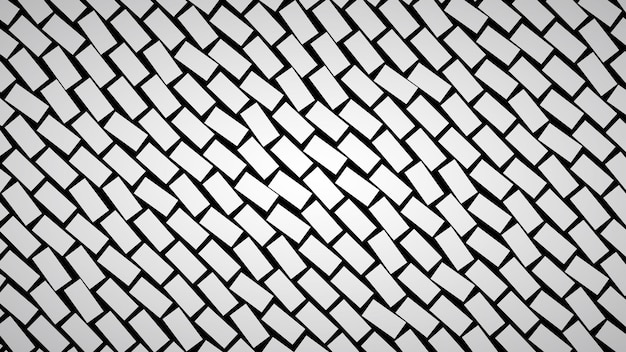 Sfondo astratto di rettangoli disposti in diagonale in colori grigi