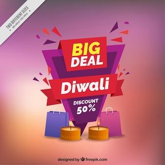 Astratto di diwali vendita