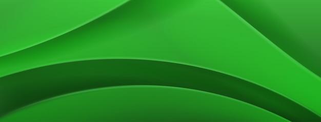 Sfondo astratto in colori verdi