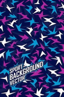 Sfondo astratto per leggings, squadra di jersey estremo, corse, ciclismo, calcio, gioco e livrea sportiva.
