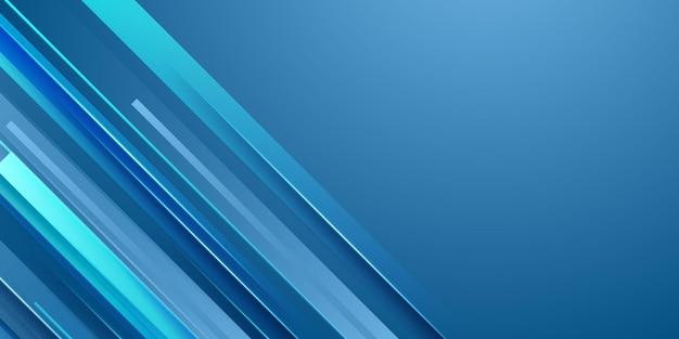 Astratto sfondo azzurro con moderno concetto aziendale. sfondo di forma geometrica sfumata blu e bianco