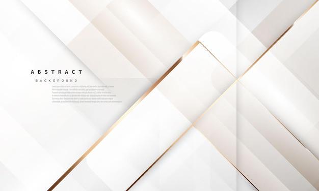 Oro bianco di lusso del fondo astratto moderno