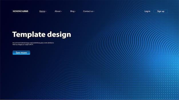 Sfondo astratto design moderno. pagina di destinazione. modello per il design vettoriale di siti web o app.