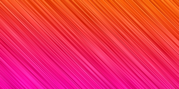 Astratto sfondo arancione rosa sfumato colore. carta da parati a righe