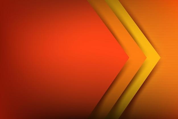 Lo sfondo astratto si sovrappone alla geometria di base del colore con le ombre
