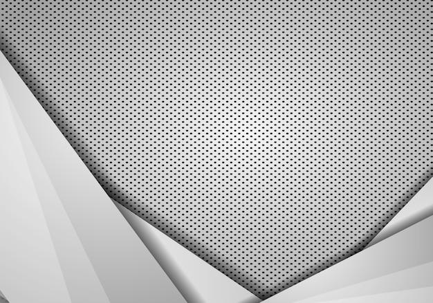 Sovrapposizione astratta del fondo con struttura dei punti