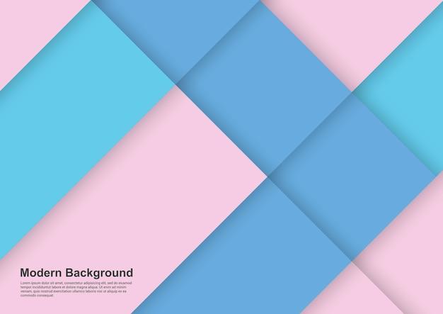 Sfondo astratto rosa e blu ligth design moderno