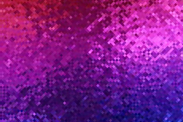 Sfondo astratto. pixelate rosa blu