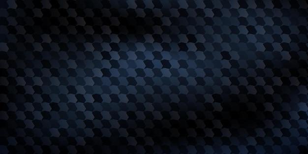 Sfondo astratto di poligoni montati l'uno sull'altro, in colori blu scuro