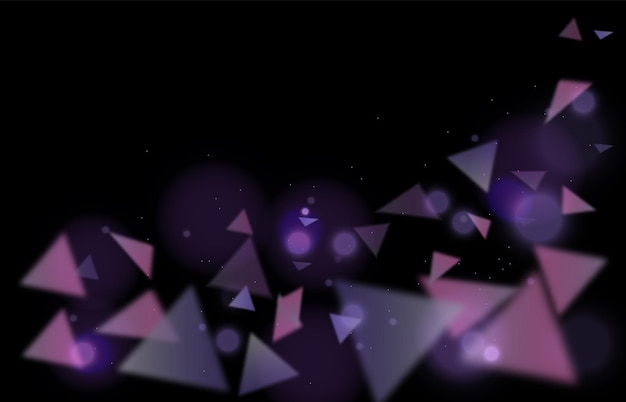 Sfondo astratto di triangoli viola