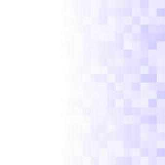 Sfondo astratto di piccoli quadrati nei colori blu con gradiente orizzontale