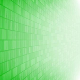 Sfondo astratto di piccoli quadrati o pixel in colori verdi