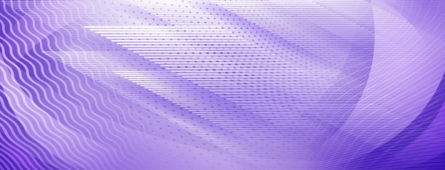 Sfondo astratto di linee che si intersecano diritte e ondulate in colori viola