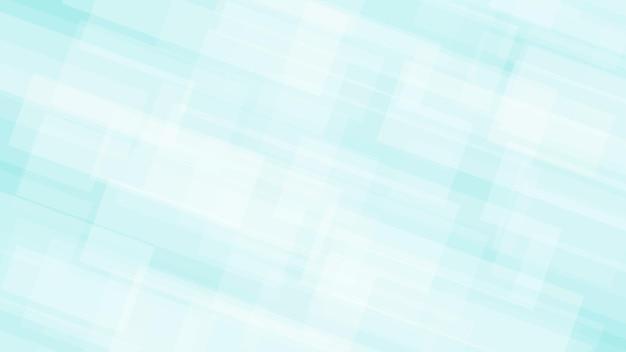 Sfondo astratto di rettangoli traslucidi nei colori bianco e azzurro